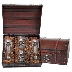 Skull & Bones Beer Set w/ Chest