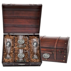 Leopard Beer Set w/ Chest