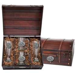 Pheasant Beer Set w/ Chest