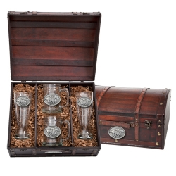 By A Nose Beer Set w/ Chest