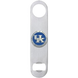 University of Kentucky Bottle Opener - Enameled