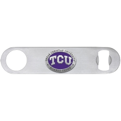 Texas Christian University Bottle Opener - Enameled