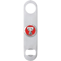 Texas Tech University Bottle Opener - Enameled