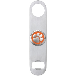 Clemson University Bottle Opener - Enameled
