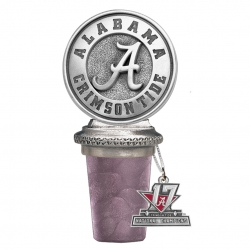 2017 CFP National Champions Alabama Crimson Tide Bottle Stopper
