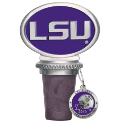 2017 CFP National Champions Louisiana State University LSU Tigers Tide Bottle Stopper