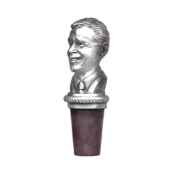 43rd US President George W. Bush Bottle Stopper
