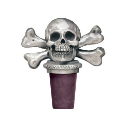 Skull & Bones Bottle Stopper