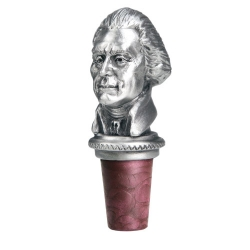 3rd US President Thomas Jefferson Bottle Stopper