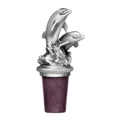 "Dolphin ""Pair"" Bottle Stopper"