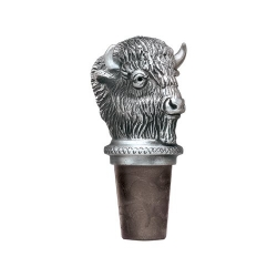 "Marshall University ""Thundering Herd"" Pewter Bottle Stopper"