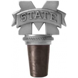 "Mississippi State University ""M"" Bottle Stopper"