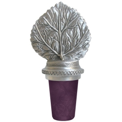Aspen Pewter Bottle Stopper