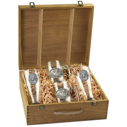 Cape Buffalo Beer Set w/ Box