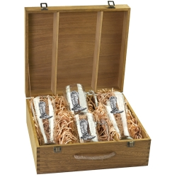 Cowboy Boot Beer Set w/ Box