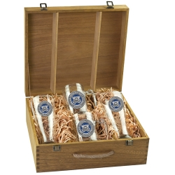Coast Guard Beer Set w/ Box - Enameled