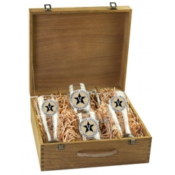 Vanderbilt University Beer Set w/ Box - Enameled
