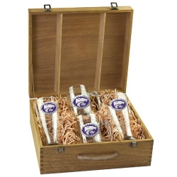 Kansas State University Beer Set w/ Box - Enameled