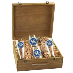 University of Kentucky Beer Set w/ Box - Enameled