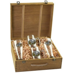 Ruffed Grouse Beer Set w/ Box - Enameled