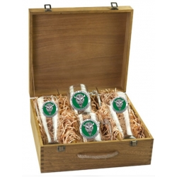 Marshall University Beer Set w/ Box - Enameled