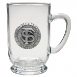 Florida State University Clear Coffee Cup