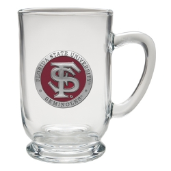 Florida State University Clear Coffee Cup - Enameled