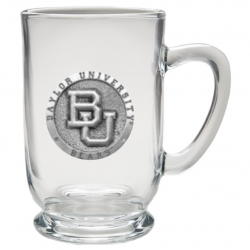 Baylor University Clear Coffee Cup