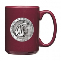 Washington State University Crimson Coffee Cup