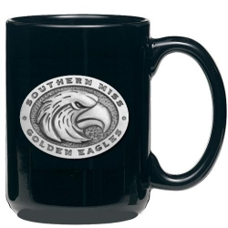 University of Southern Mississippi Black Coffee Cup