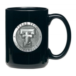 Texas Tech University Black Coffee Cup