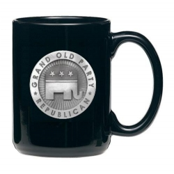 Republican Black Coffee Cup