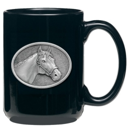 Racehorse Black Coffee Cup