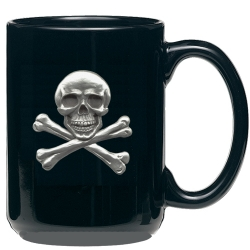 Skull & Bones Black Coffee Cup