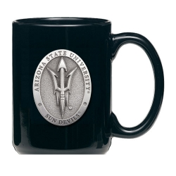 "ASU ""Pitchfork"" Black Coffee Cup"