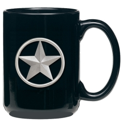 Lone Star Black Coffee Cup