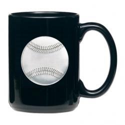 Baseball Black Coffee Cup