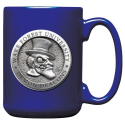 "Wake Forest University ""Demon Deacons"" Cobalt Coffee Cup"
