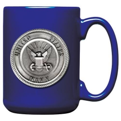 Navy Cobalt Coffee Cup
