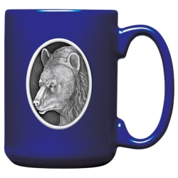 Black Bear Cobalt Coffee Cup