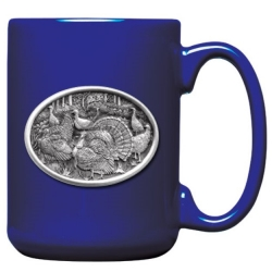 Turkey Cobalt Coffee Cup #2