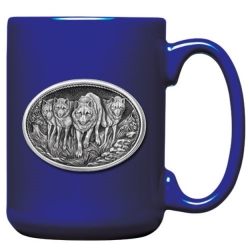 Wolves Cobalt Coffee Cup #2