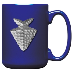 Arrowhead Cobalt Coffee Cup