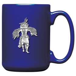Eagle Kachina Cobalt Coffee Cup