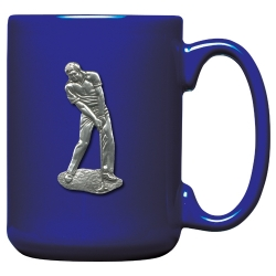 Golfer Clear Coffee Cup