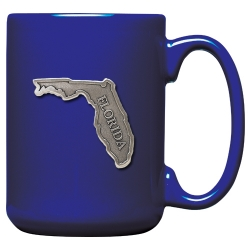 Florida Cobalt Coffee Cup