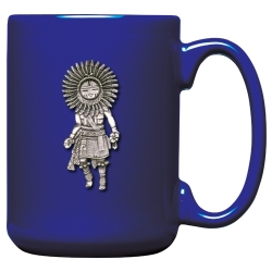 Sun Kachina Cobalt Coffee Cup