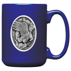 Eagle Cobalt Coffee Cup