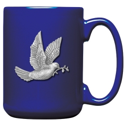 Dove Cobalt Coffee Cup