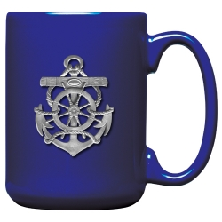 Anchor Cobalt Coffee Cup